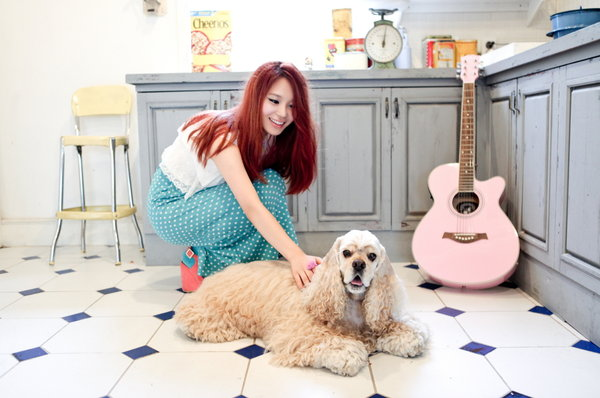 "Kim Yeohee (Apple Girl) >> single ""Half"" Kim-yeonhee-half-2"