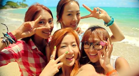 Sistar Loving U MV Pictures(2)