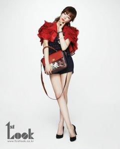 SNSD Tiffany – 1st Look Magazine 2