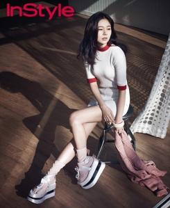 Baek Jin Hee - InStyle Magazine April Issue 2013 (2)