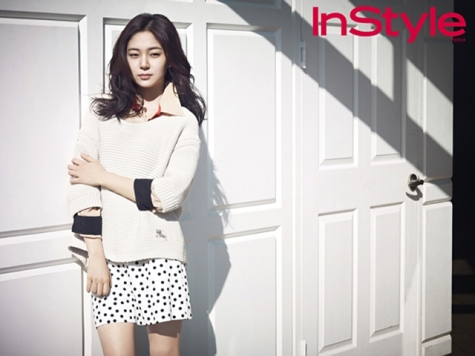 Baek Jin Hee - InStyle Magazine April Issue 2013
