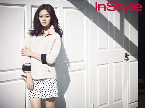 Baek Jin Hee - InStyle Magazine April Issue 2013