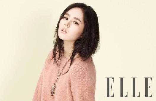 Han Ga In - Elle Magazine April Issue 2013