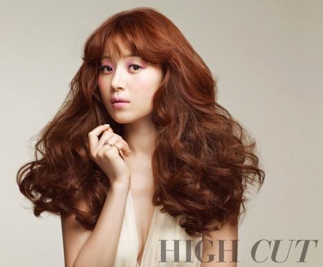 Han Ji Hye - High Cut Magazine Vol.97