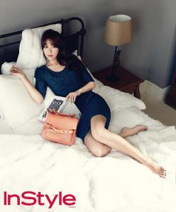 Kim Ah Joong - InStyle Magazine April Issue 2013 (3)