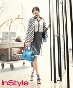 Kim Ah Joong - InStyle Magazine April Issue 2013 (5)