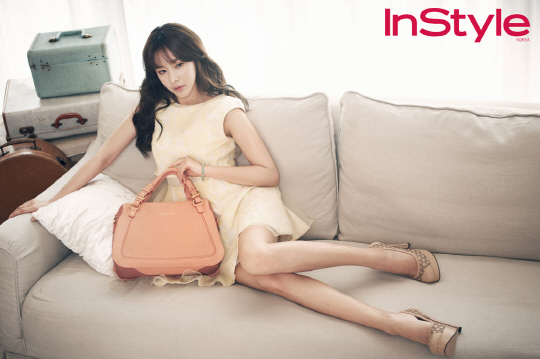 Kim Ah Joong - InStyle Magazine April Issue 2013 (6)