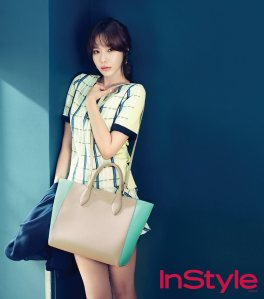 Kim Ah Joong - InStyle Magazine April Issue 2013