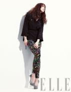 Park Min Young Angelic Beauty Elle Magazine January 2013 (2)