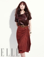 Park Min Young Angelic Beauty Elle Magazine January 2013 (3)