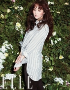Park Min Young Angelic Beauty Elle Magazine January 2013 (5)