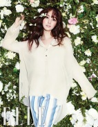 Park Min Young Angelic Beauty Elle Magazine January 2013