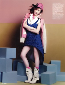 Tiffany Hwang SNSD Girls' Generation Vogue Girl March 2013 (6)