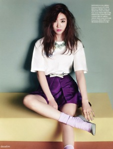 Tiffany Hwang SNSD Girls' Generation Vogue Girl March 2013 (7)