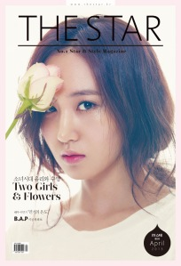 2Yuri SNSD Girls' Generation The Star Magazine April 2013