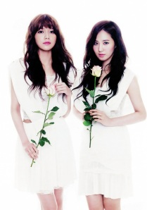 6Yuri and Sooyoung SNSD Girls' Generation The Star Magazine April 2013