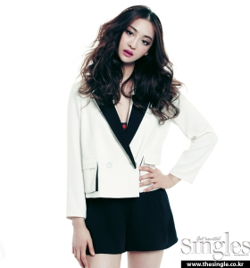 Dasom and Soyu SISTAR Singles Magazine February Issue 2013 (4)