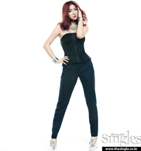 Dasom and Soyu SISTAR Singles Magazine February Issue 2013