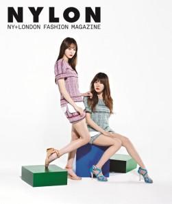 Davichi - Nylon Magazine May Issue 2013