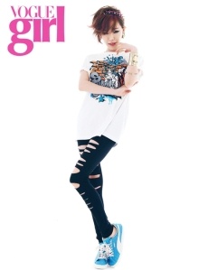 Ga In Brown Eyed Girls Vogue Girl April 2013 (2)