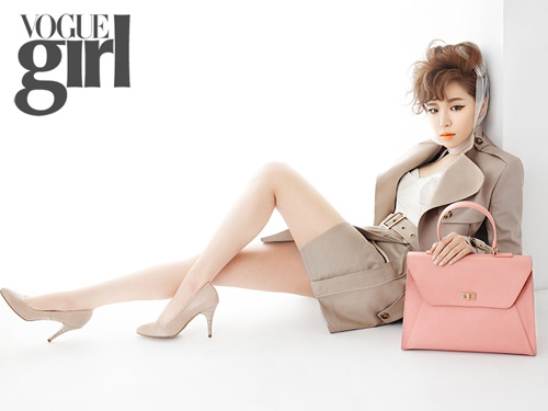 Ga In Brown Eyed Girls Vogue Girl Magazine March Issue 2013 (6)