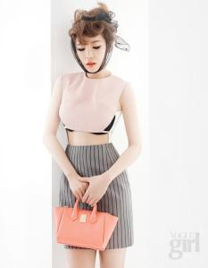 Ga In Brown Eyed Girls Vogue Girl Magazine March Issue 2013