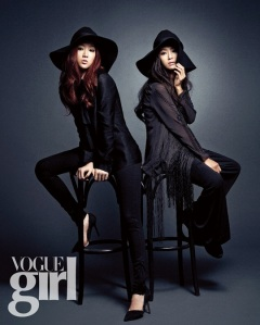 Hyorin and Soyu SISTAR Vogue Girl April 2013 (2)