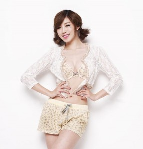 Hyosung SECRET Korean KPOP Yes Underwear Lingerie Spring Collection 2013 (2)