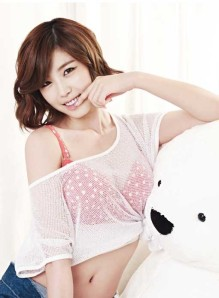 Hyosung SECRET Korean KPOP Yes Underwear Lingerie Spring Collection 2013