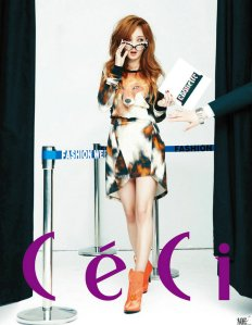 Jia miss A CeCi Magazine May 2013 (2)