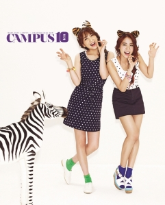 Jiyoung and Seungyeon Campus10 Magazine April 2013 (2)
