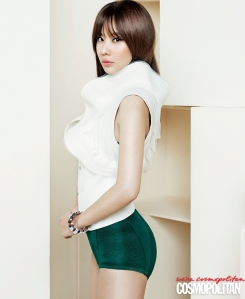 Kim Ah Joong Cosmopolitan Magazine April 2013 (2)
