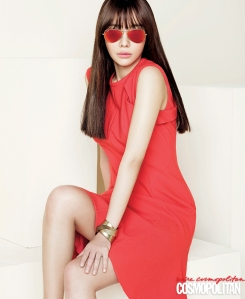 Kim Ah Joong Cosmopolitan Magazine April 2013 (5)