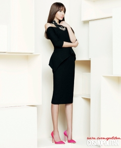 Kim Ah Joong Cosmopolitan Magazine April 2013 (8)