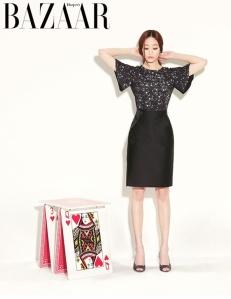 Kim Hyo Jin - Harper's Bazaar Magazine April Issue 2013 (4)
