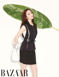 Kim Hyo Jin - Harper's Bazaar Magazine April Issue 2013