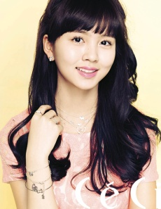 Kim So Hyun CeCi Campus Magazine April 2013