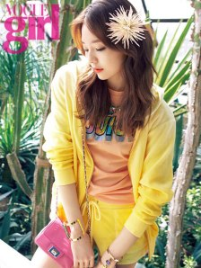 Lee Som Vogue Girl April 2013