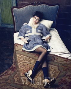 Lee Som - Vogue Magazine March Issue 2013 (2)