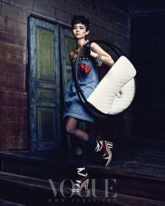 Lee Som - Vogue Magazine March Issue 2013