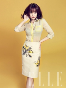 Oh Yeon Seo - Elle Magazine April Issue 2013 (3)
