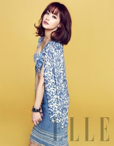 Oh Yeon Seo - Elle Magazine April Issue 2013