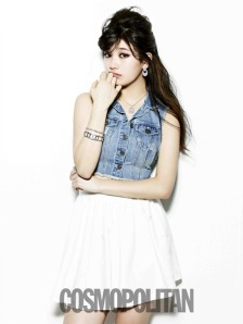 Suzy miss A Cosmopolitan Magazine May 2013