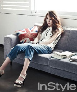 Yoo In Na InStyle Magazine April 2013 (6)