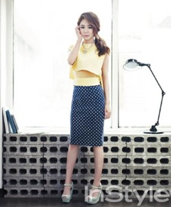 Yoo In Na InStyle Magazine April 2013 (7)