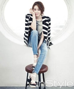 Yoo In Na InStyle Magazine April 2013 (8)