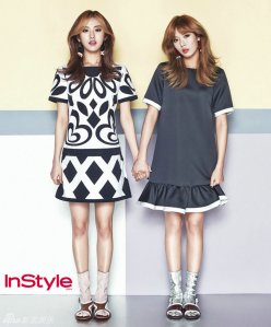 Hyuna and Gayoon 4minute InStyle Magazine May 2013 (3)