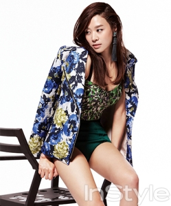 Jang Shin Young - InStyle Magazine April Issue 2013