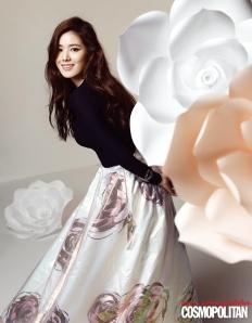 Jung Eun Jae - Cosmopolitan Magazine April Issue 2013 (2)