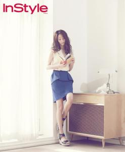 Kim Hyo Jin - InStyle Magazine May Issue 2013 (4)